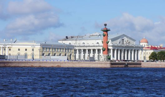 St Petersburg - A beautiful city on the  Waterfront