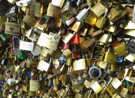 "The Locks of ""Pont des Arts"""