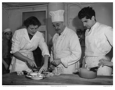 Julia Child at Le Cordon Bleu Paris - Circa 1950