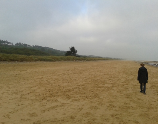 Omaha Beach, Normandy France